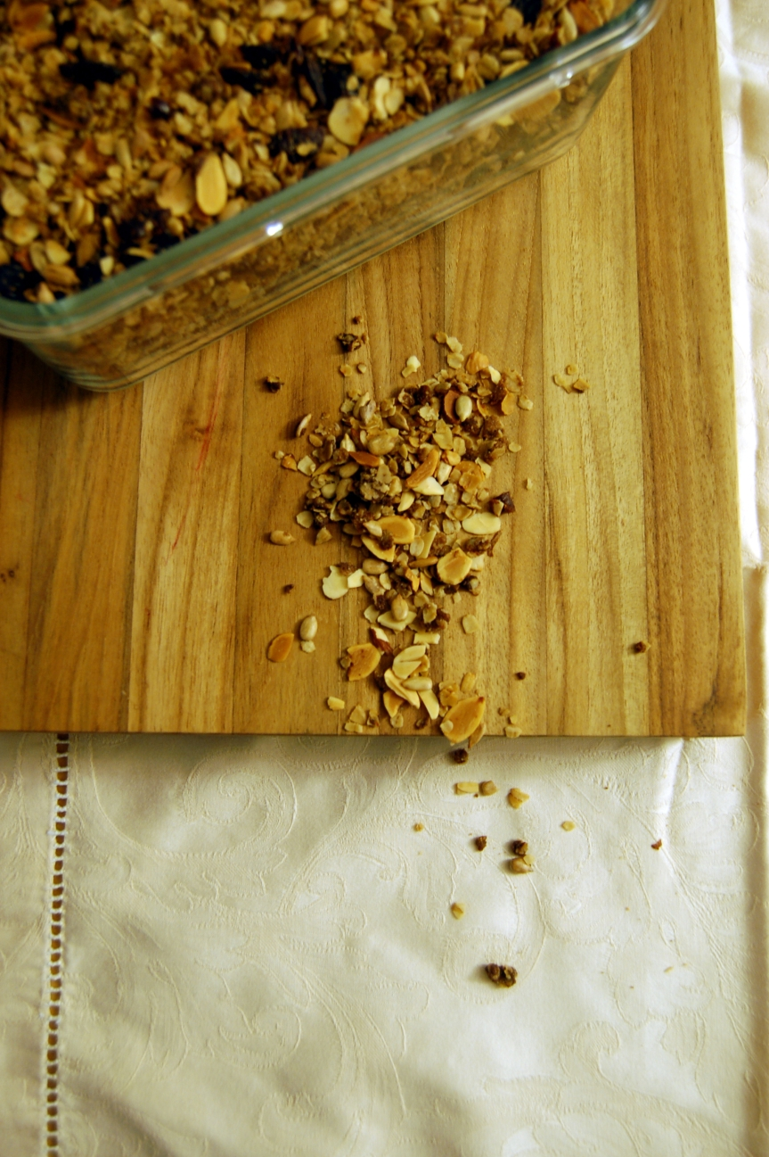 Hearty, Healthy, Homemade Granola