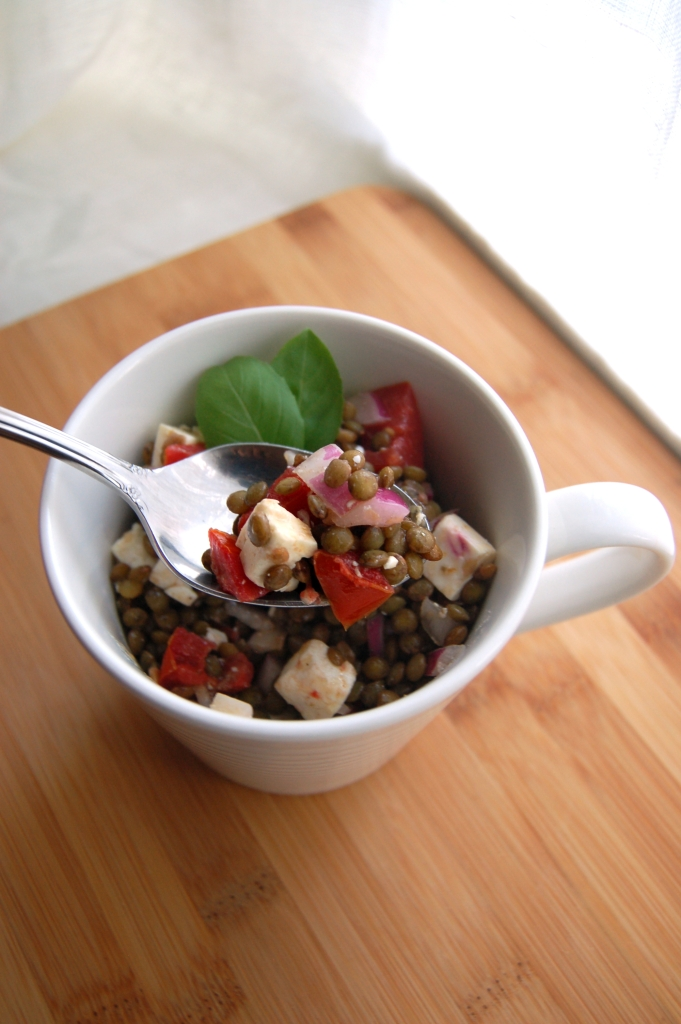 Lentil Salad with Tomatoes and Feta 2