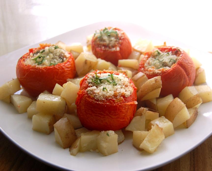 Rice-Stuffed Tomatoes 2