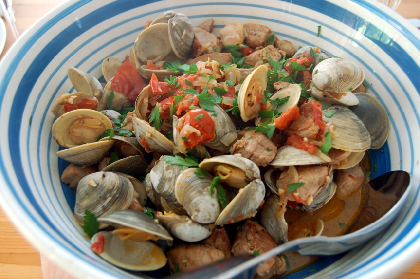 Porco à Alentejana (Portuguese Pork and Clams)
