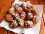 Lemon Doughnuts with Blackberry Jam